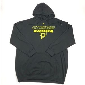 Pittsburgh Pirates MLB Majestic Black Hoodie